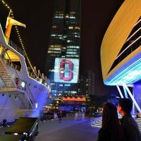 深圳都市巨影大型户外广告投影机