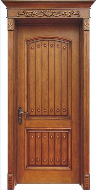中式烤漆木门   套装门