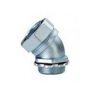 供应45度弯角金属软管接头 不锈钢软管接头