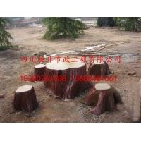 仿树皮座椅 仿木桌凳 水泥椅子 塑石椅子