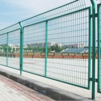 双边丝围栏框架护栏网交通隔离栏