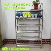 广东不锈钢六层方管U型组合鞋架