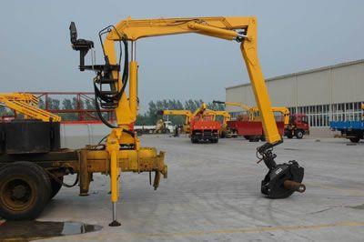 供应抓木机 抓木吊机系列-lsq080 液压起重机配件 随车图片