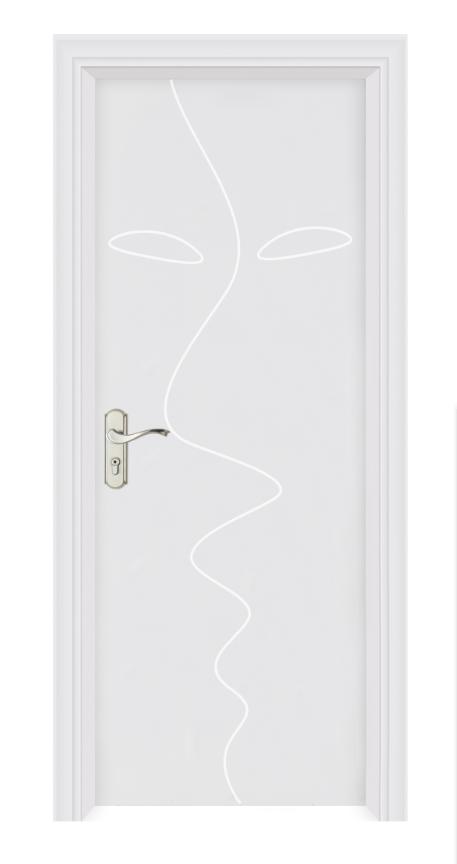 复合工艺门免漆门PVC木门房门复合实木套装门