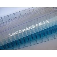 沈阳双层阳光板 温室大棚车棚专用草绿阳光板湖蓝阳光板