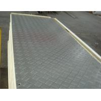 冷库板--铝板(常用为轧花铝、防滑铝板),适用于较厚面板冷库