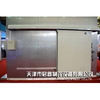 電動側滑道冷庫平移門,組合式冷庫保溫門