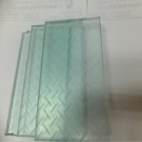 八字防滑玻璃地板 小圆点防滑玻璃地板