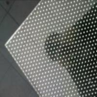 小圆点防滑玻璃地板 八字防滑玻璃