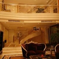 铜扶手-楼梯扶手-南京安桥楼梯