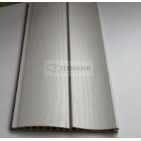 厂家批发木塑百叶板整体衣柜移门材料木塑龙凤板
