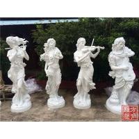 广东欧式人物雕塑 佛山砂岩圆雕 砂岩雕塑厂家定做