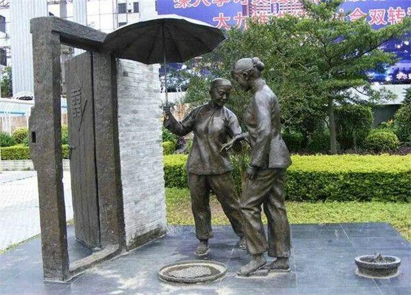 园林小品雕塑 铸铜不锈钢雕塑 城市广场公园街边雕塑广东佛山