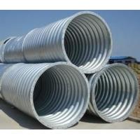 钢质镀锌金属波纹涵管