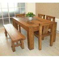 明清中式老榆木餐桌