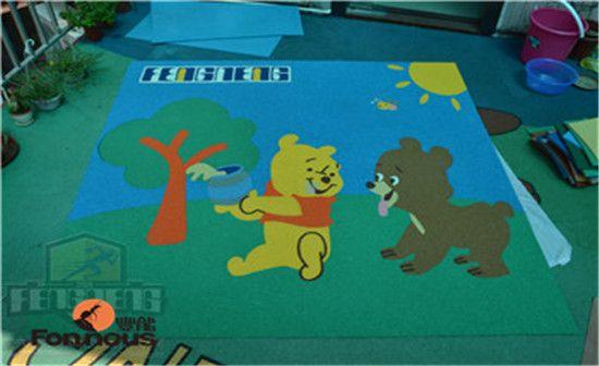 幼儿园橡胶地垫_EPDM橡胶地垫_儿童橡胶地垫-丰能环保