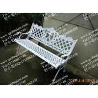 哈尔滨铸铁公园椅,学校长椅,中卫公园户外椅,铁椅