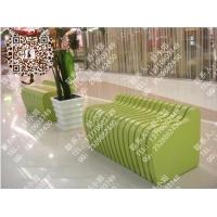 商场玻璃钢座椅花箱