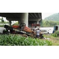 云南省昆明非開挖頂管管道工程38噸水平定向鉆機