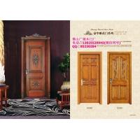 橡木平雕门,橡木深雕门,指接橡木门厂家,佛山广福木门厂