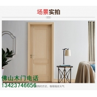 广东平雕实木门/工程酒店门/工地专用复合实木门/福广木门