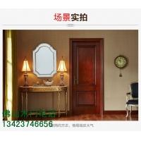 广东木门厂生产/直纹烤漆木皮门/直纹擦色复合池板门/福广木门
