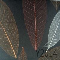 独特风格树叶墙纸纯天然然环保植物墙纸植物纤维草编墙纸 Y20