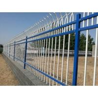 小区围墙铁栅栏-幼儿园围墙栏杆安装方式-学校围墙护栏