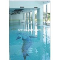 玻璃马赛克.游泳池瓷砖. 游泳池马赛克