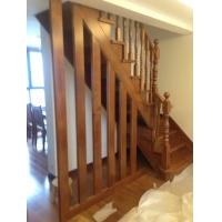 ——客厅实木楼梯