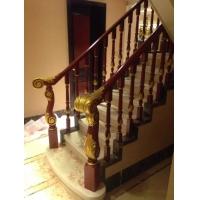 家用扶手实木扶手实木护栏橡胶木楼梯扶手护栏