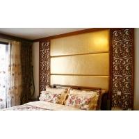 家居卧室背景墙软包_中式软包古典风格_威尔博艺术软包定制