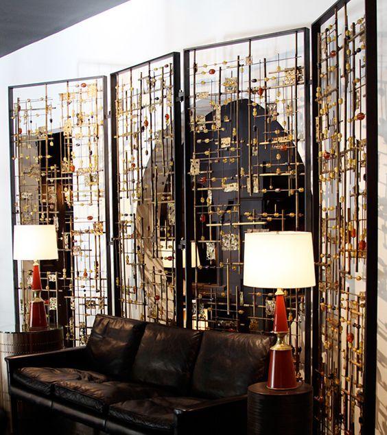 不锈钢装饰屏风 铜制金属屏风
