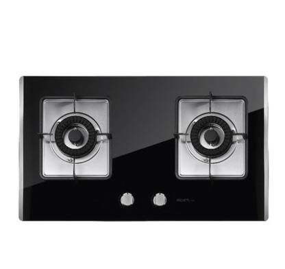 MQ名气厨房电器 635B黑晶钢化玻璃燃气灶 燃气灶