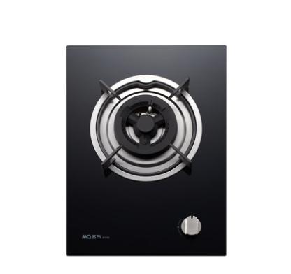 MQ名气厨房电器 611B单灶黑晶钢化玻璃 全氧精燃单灶燃气