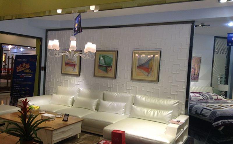 三维板3d立体电视背景墙店铺门头装饰材料公司店铺墙