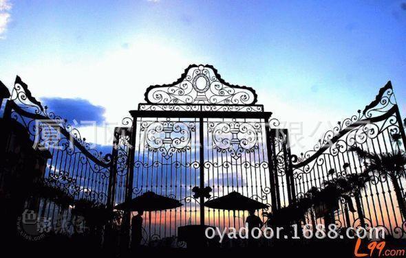 欧式庭院门