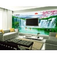 賽歐福中式風景背景墻墻畫大型壁畫