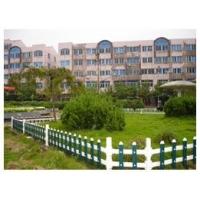 山东无棣PVC草坪护栏  塑钢社区庭院围栏