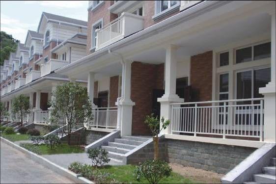 别墅砖砌阳台效果图