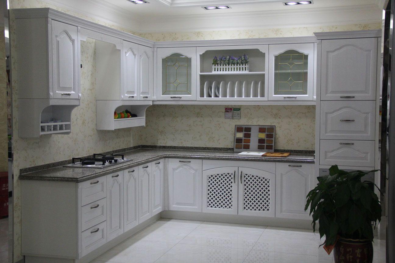欧莱客厨房实木风格橱柜图片