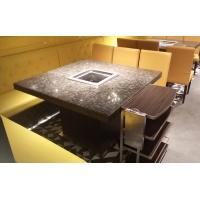 大理石火锅桌椅