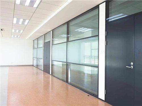 广州铝合金隔断 办公玻璃隔断
