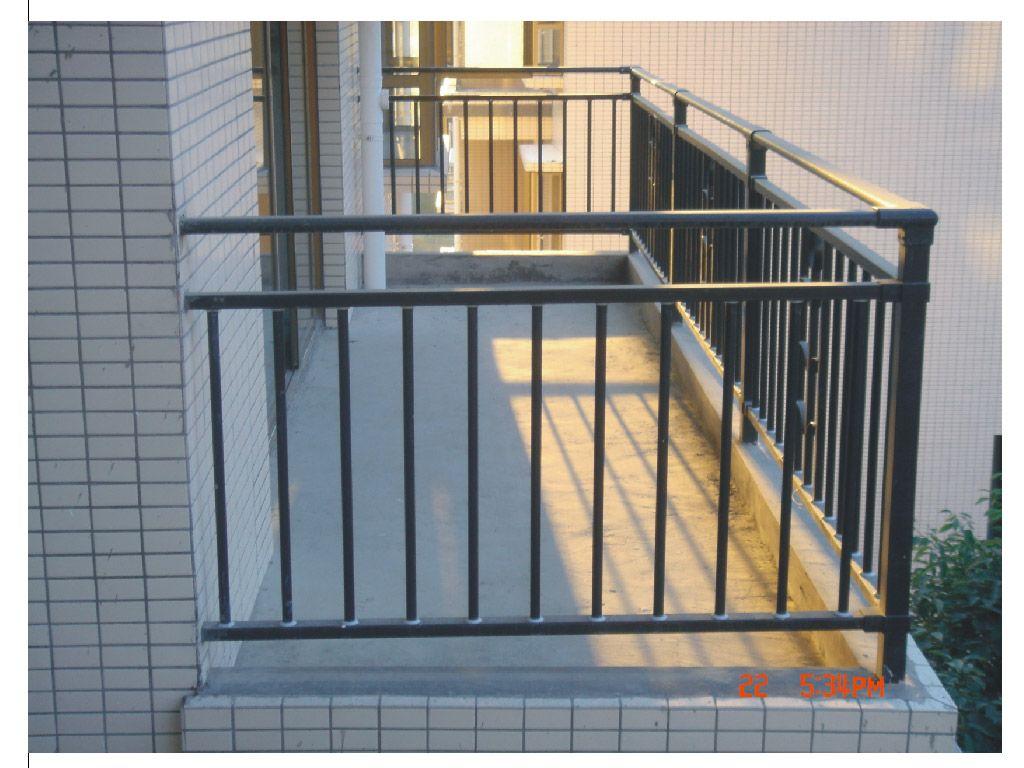 高层阳台护栏 标准高层阳台护栏 1.2m高