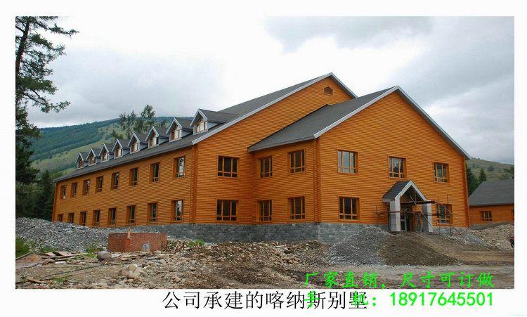 樟子松外墙弧形挂板 实木防腐木墙板 木屋别墅板材外墙板 吊顶