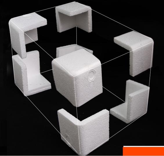 泡沫护角三面缓冲防震泡沫包装角加厚