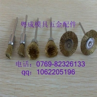 各种类形抛光扫笔型铜丝刷