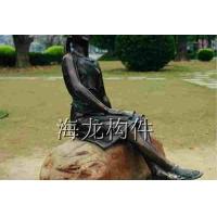 欧式人物雕塑 美女雕塑、玻璃钢人物雕塑