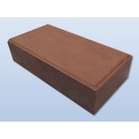 供应咖啡色烧结砖棕色陶土广场砖透水砖园林景观砖道板砖