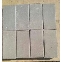 深灰色烧结砖 陶土烧结砖 园林景观砖 广场砖本色